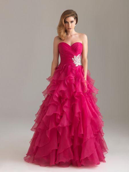 Modelos de vestidos de fiestas 2012