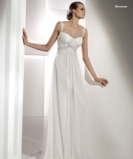 maresme novia espacio 680 de pronovias vestidos 2010 lucia modelo