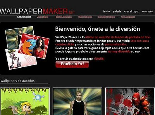 Wallpapermaker Crea Tu Propio Fondo De Pantalla Espacio De Lucia